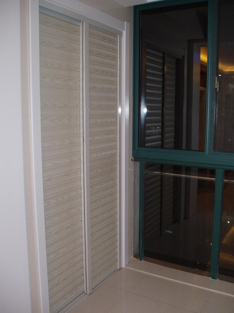 阳台装修效果图 柜子