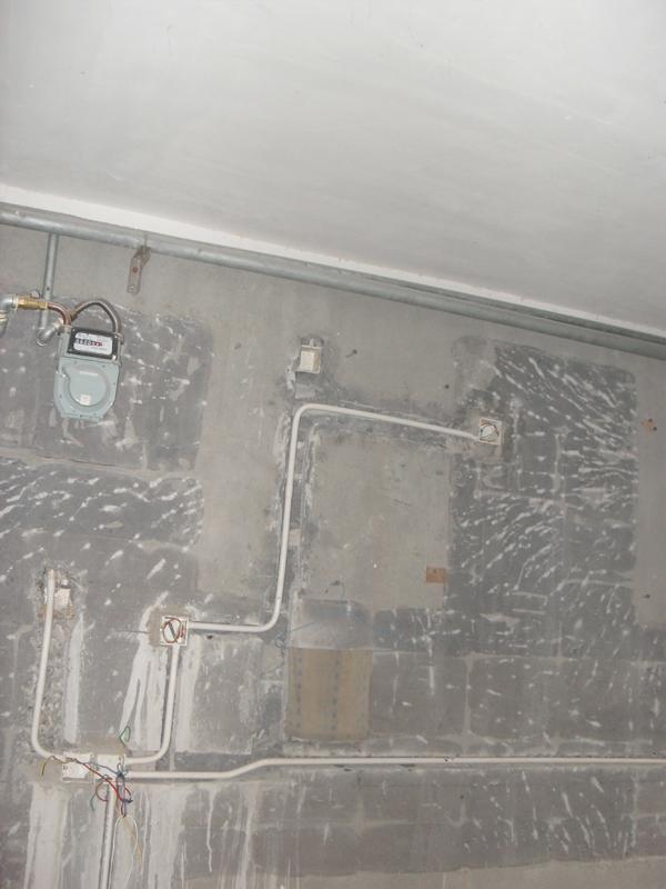 厨房插座电路走向