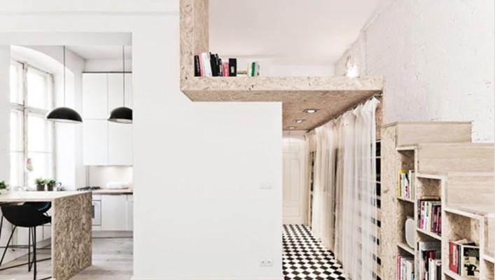 设计 上海/30㎡优雅小户型隔层设计秒变loft