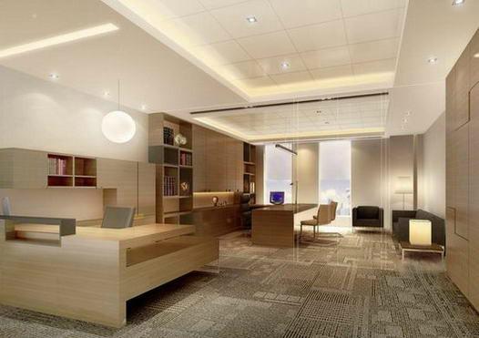 十大办公室效果图 - 上海东顺设计装饰有限公司