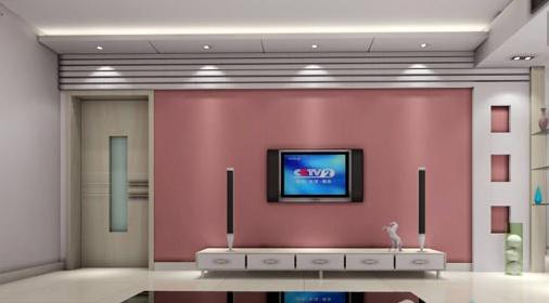 客厅是一个家庭门面,电视在客厅装修中又是不可缺少的的家电,对于客厅的装修,也更注重电视背景墙色装修,今天小编和你分享的就是几款超好看的客厅电视背景墙纸,希望对你的客厅电视背景墙壁纸的选择能起到一点的作用! 现代简约风格的客厅装修,在选择电视背景墙的时候就选择了和整个客厅相配的电视背景墙壁纸,粉色壁纸显得特别的清新素雅,上面白色横纹让素雅中充满了条理性。在简单中追寻美的存在!  此款客厅的设计比较的大气高雅,将欧式风格发挥的淋漓尽致,金属感强烈的电视背景墙,仿佛用金箔铺贴而成,奢华贵气尽显其中  辉煌的墙体